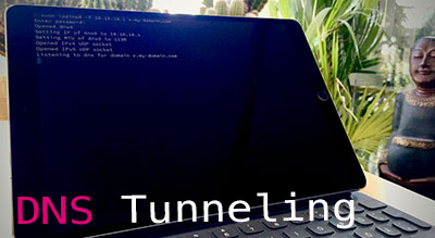 Tunneling network traffic over DNS with Iodine and a SSH SOCKS proxy